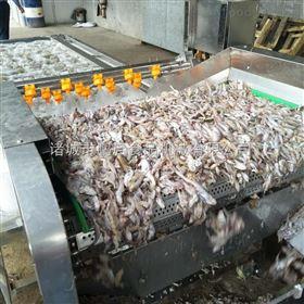 鱿鱼头清洗机鲜鱼清洗设备