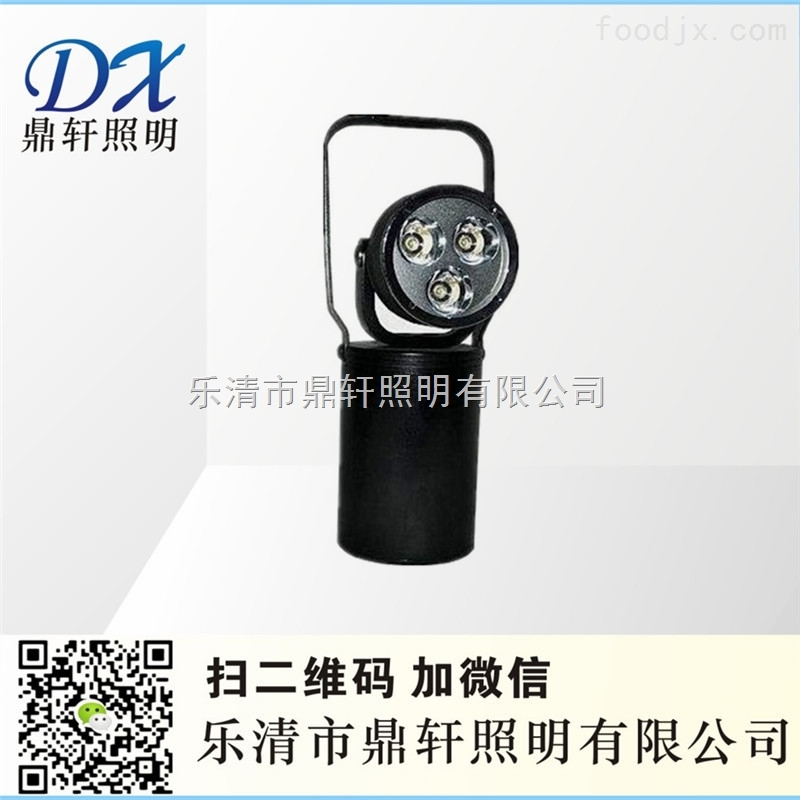 DYB7530-E27防爆强光工作灯3*3W手提泛光灯