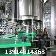 玻璃瓶含氣飲料拉環蓋皇冠蓋啤酒灌裝設備
