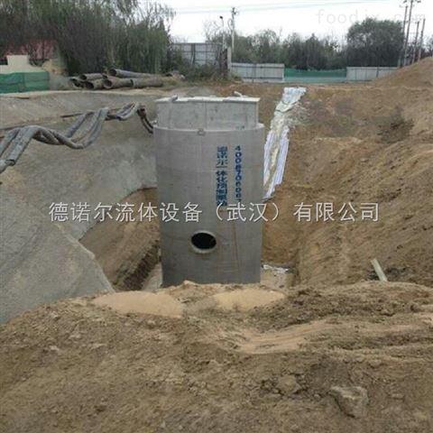 一站式的预制泵站应用