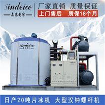 日产20吨片冰机大型食品厂化工厂工业制冰机