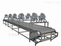 食品降温冷却不锈钢网带输送机
