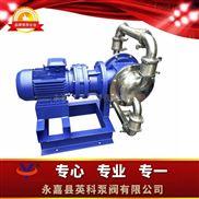YKDW-50PFBTF-温州不锈钢卫生级电动隔膜泵 304食品级电动隔膜泵