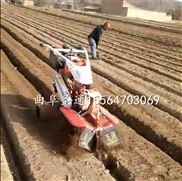 新疆哈密瓜开沟起垄机 单人手扶培土机