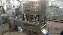 全自动果冻饮料灌装机封口机