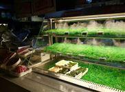 蔬菜冷藏诺森德水果风幕柜展示柜超市冷柜