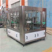 CGF32-32-10厂家供应杏仁露玻璃瓶三旋盖三合一灌装机
