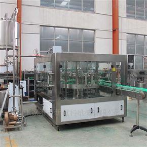 厂家供应全自动豆奶饮料灌装机成套饮料生产设备