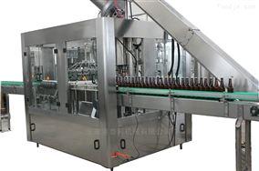 啤酒(玻璃瓶)三合一灌装机组