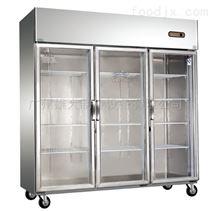 随州—商用玻璃门厨房冷柜