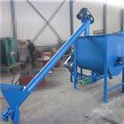 石子水泥螺旋提升机 斜坡U型管螺旋上料机