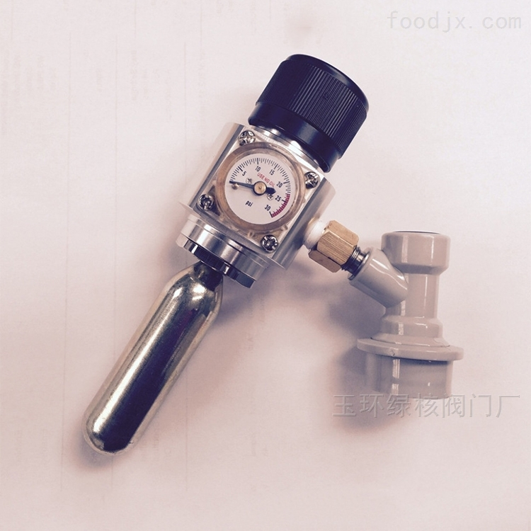 卡罗福啤酒机阀 方体c02减压阀 厂家直销图片