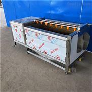 MS-1200-全自动不锈钢土豆毛刷清洗机不伤物料清洗设备