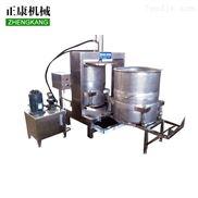 正康供应不锈钢全自动甘蔗压榨机 双桶立式