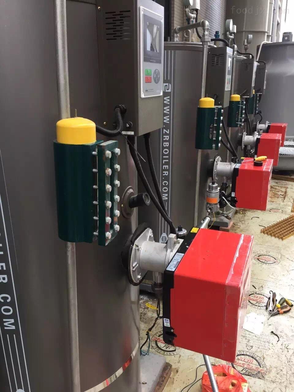100KG宾馆用立式燃气蒸汽锅炉