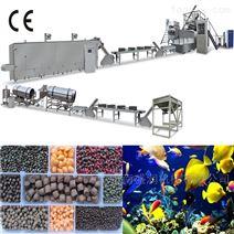 山東膨化顆粒魚飼料設備