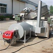 自动出料超温断电麻花油炸锅油水分离油炸机