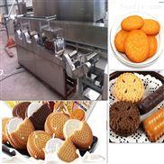 全自动饼干生产线 隧道式烘烤炉