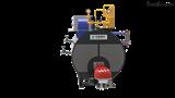 WNS5-1.25-YQ卧式(冷凝)燃油燃气蒸汽锅炉