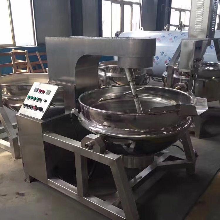 恒久人工炒面锅天然气导热夹层锅