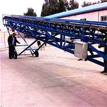 不锈钢爬坡防滑输送机 加厚挡板皮带机价格