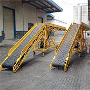 不锈钢大倾角皮带机自动装卸输送机X7