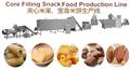 巧克力夹心米果膨化机生产线