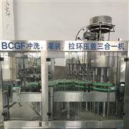玻璃瓶果汁飲料生產線飲料灌裝機