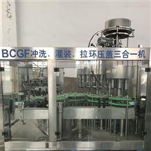 BCGF18-18-6玻璃瓶果汁饮料生产线饮料灌装机