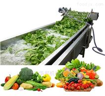 华邦供应果蔬气泡清洗机 蔬菜加工流水线