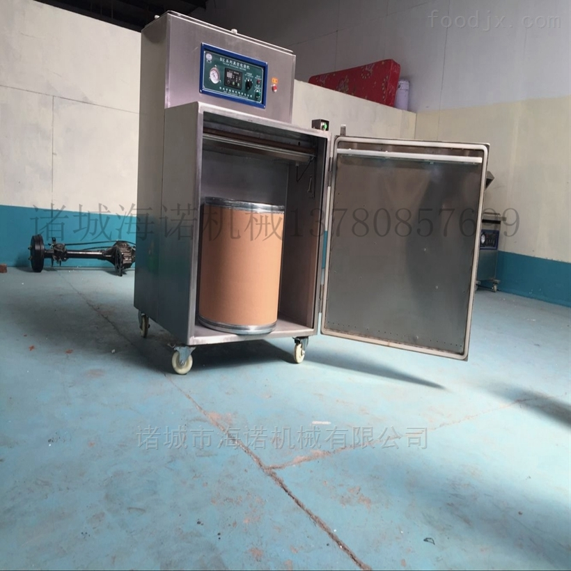 400/2L聚乙烯再生颗粒内抽真空整形封口设备