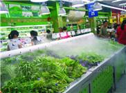 超市水果蔬菜保鲜喷雾加湿器