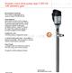 德国FLUX高粘度螺杆泵F 550 SXA-50/21