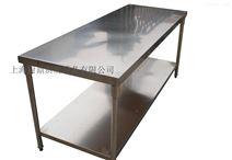 不锈钢厨房双层工作台