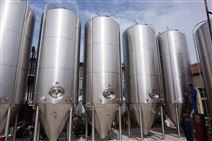出售闲置二手啤酒发酵罐