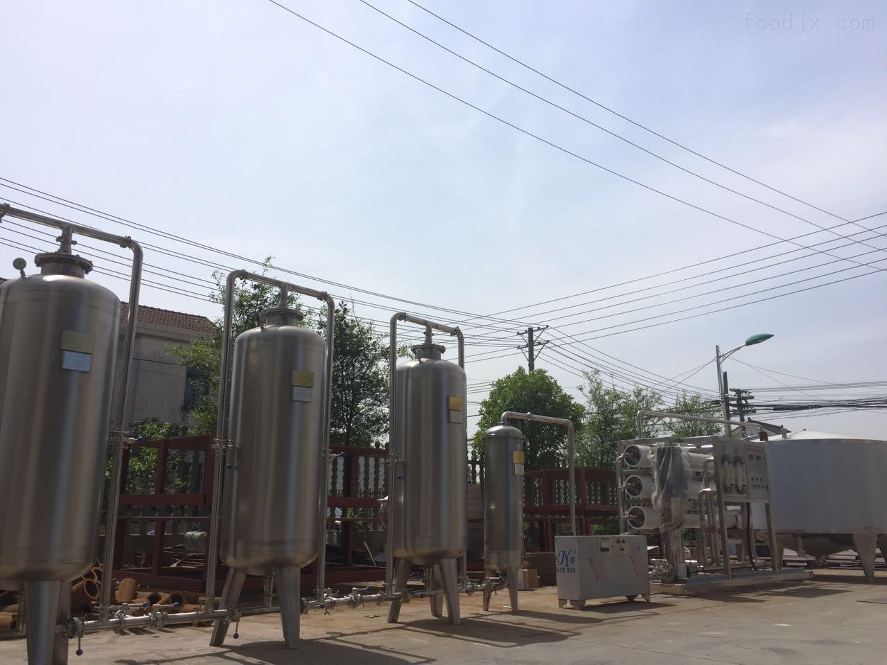 纯净水自动灌装生产线