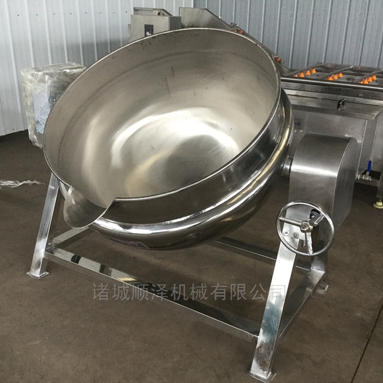 炒面酱夹层锅、电加热夹层锅