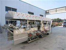 豆泡油炸生产线 豆制品油炸设备