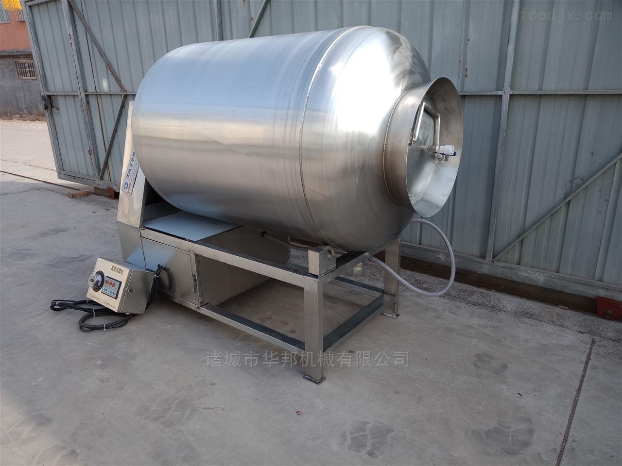 华邦机械自动吸料真空滚揉机 牛肉腌制机