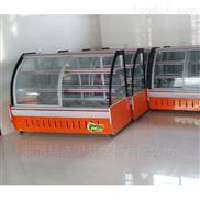 弧形玻璃蛋糕柜