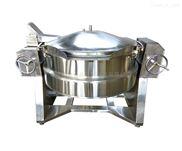 手動可傾壓力導熱油烘焙設備壓力煮鍋餡料機