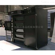 广州柏川新款烤箱四层八盘商用微电脑
