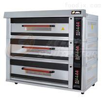 厂家直销豪华型三层九盘电脑版燃气烤箱