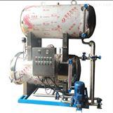 强大机械半自动高温高压杀菌锅
