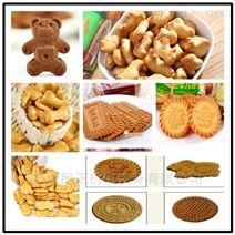 饼干机设备 200kg酥性韧性饼干生产线
