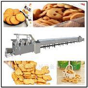全自动饼干生产线骨头状饼干机械厂家