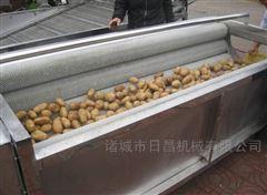 红薯毛辊去皮清洗机