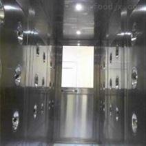 供应食品厂专用全304不锈钢电子互锁风淋室