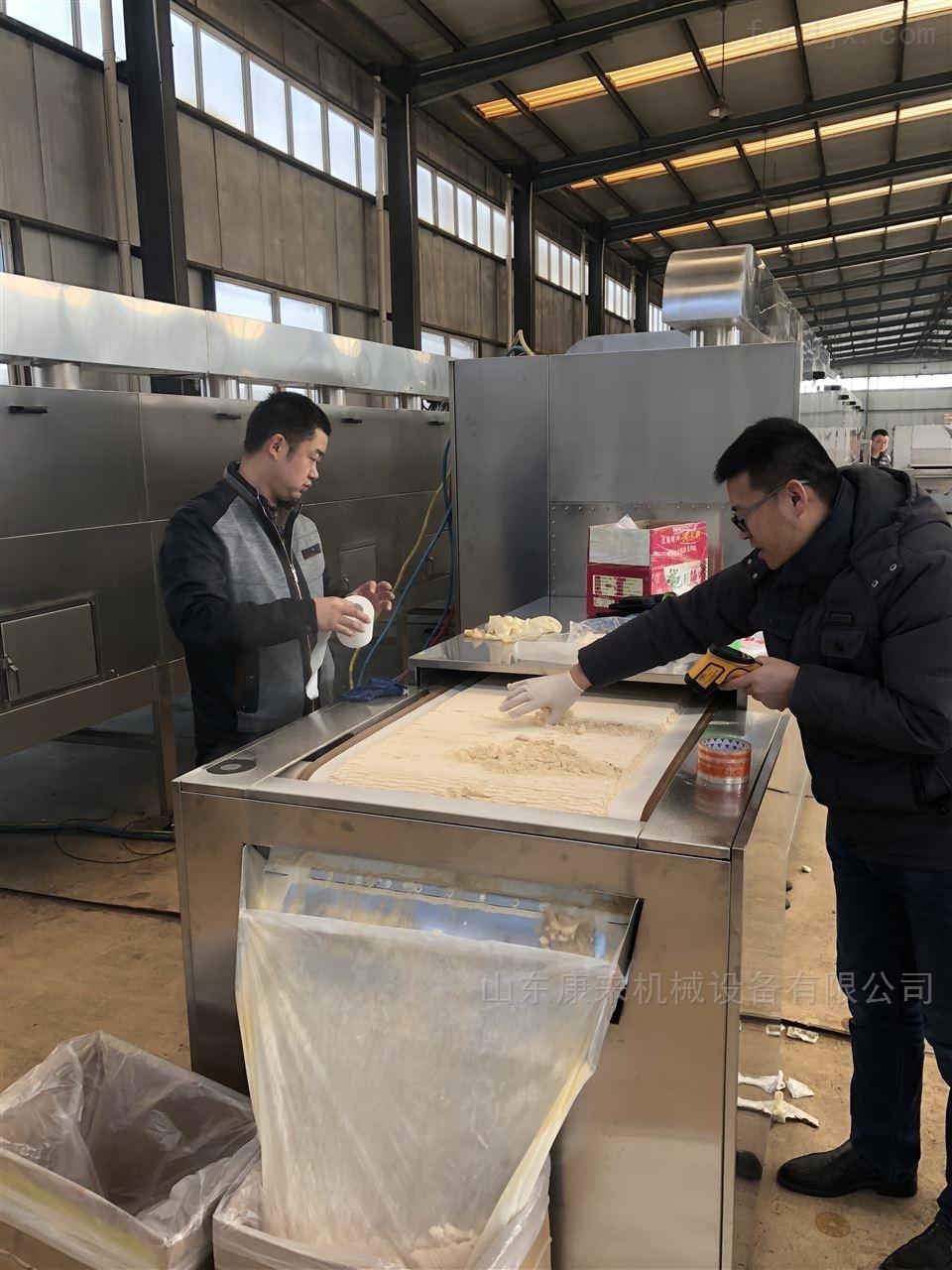济南鸡精颗粒烘干隧道设备,微波设备