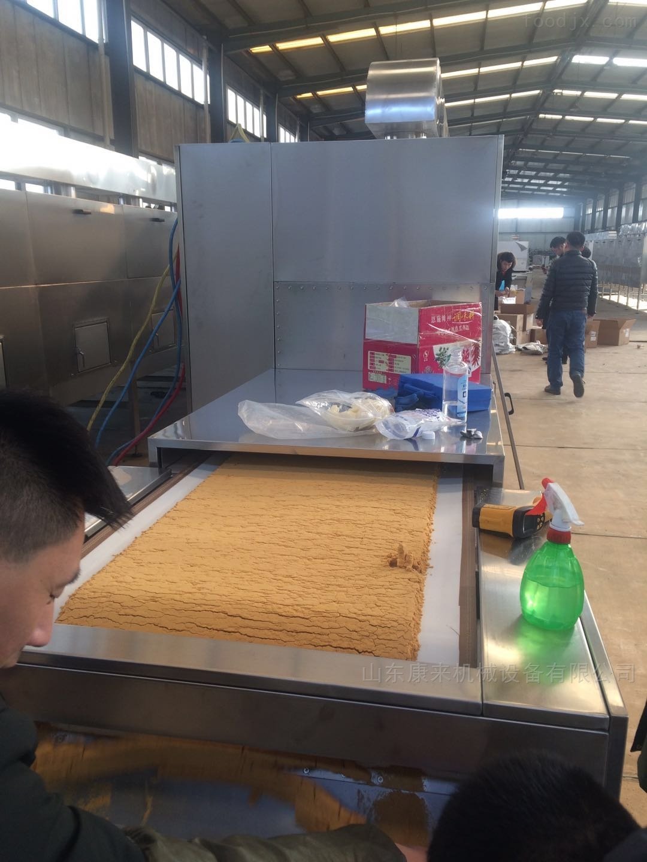 小麦胚芽低温烘焙隧道炉厂家